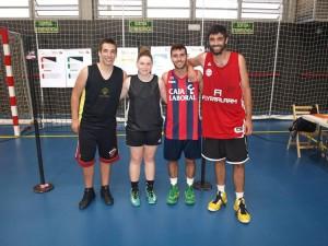 JÚNIOR: Sergi IBÁÑEZ, Paula LÓPEZ, Dani VELASCO i Albert JALIL.
