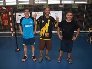 VETERANS: David ESCOBEDO, Gerard MOLINA i Carlos BASURTE.